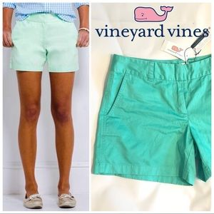 Vineyard Vines Classic Shorts Antigua Green NWT 8